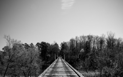 Old Tracks - BW